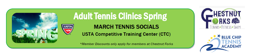 Chestnut Forks Tennis Adult Socials